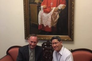 Philippines: Meeting Cardinal Luis AntonioTagle