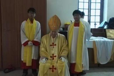 Bishop Joseph at Handan
